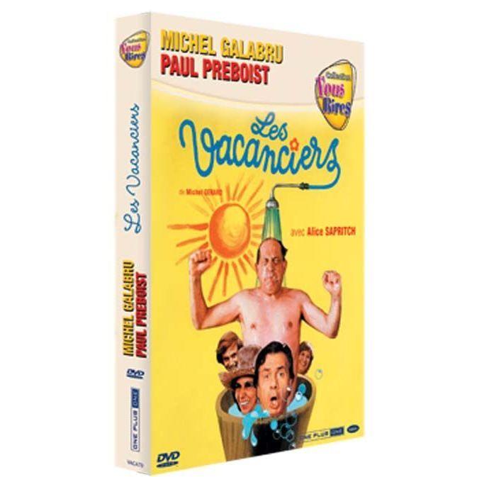 DVD FILM DVD Les vacanciers