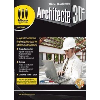 3d architecte special travaux logiciel pc d 39 arch achat for Architecte 3d metier