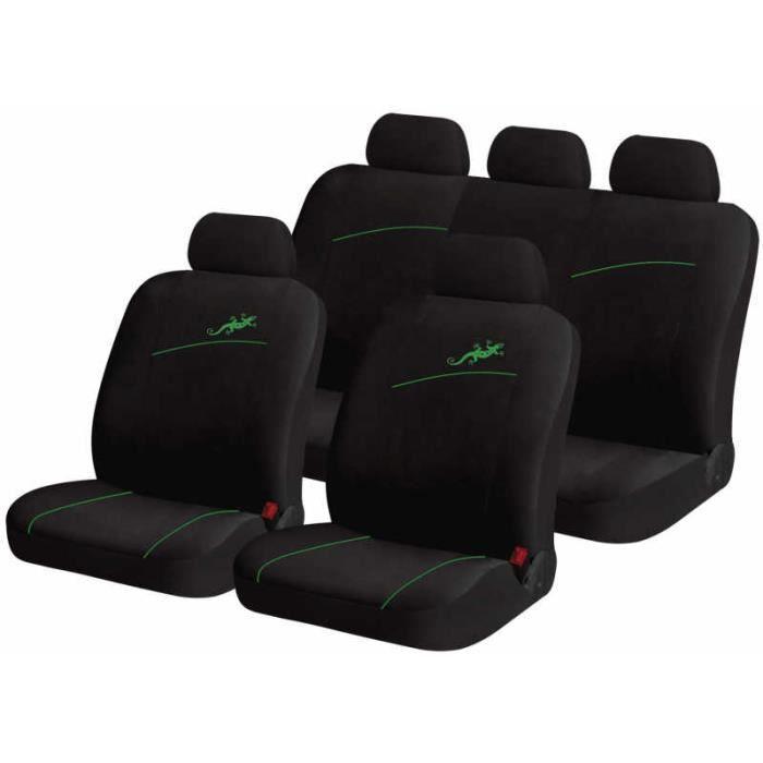 Housse pour siege de voiture auto gecko vert achat for Housse pour voiture
