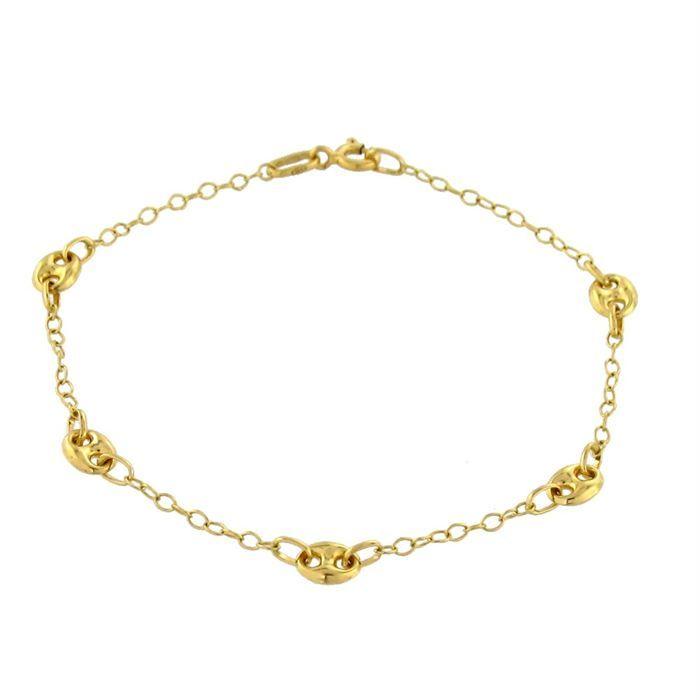 r ve de diamants bracelet or jaune 375 maille for at. Black Bedroom Furniture Sets. Home Design Ideas