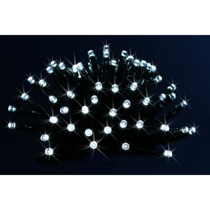Guirlande lumineuse 480 lampes led blanc froid sur 19 20 for Guirlande exterieure lumineuse 20 metres
