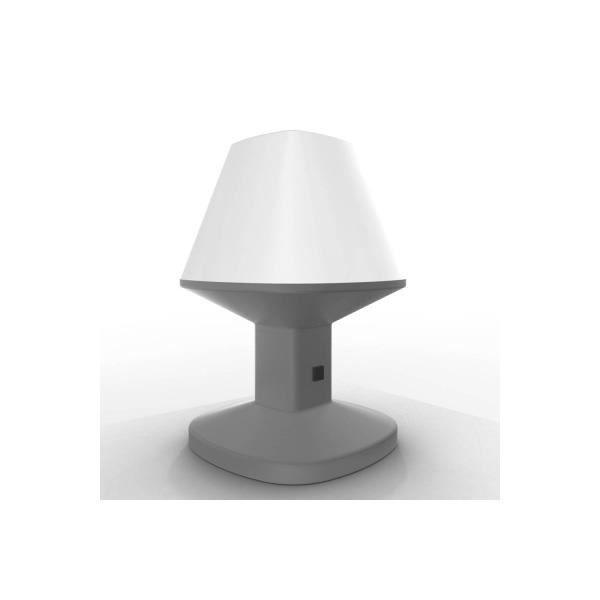 Lampe poser solaire bianca xanlite achat vente for Lampe solaire exterieur xanlite