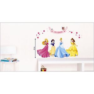 stickers muraux princesses disney achat vente stickers. Black Bedroom Furniture Sets. Home Design Ideas