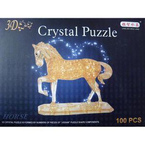 puzzle chevaux en 3d achat vente jeux et jouets pas chers. Black Bedroom Furniture Sets. Home Design Ideas