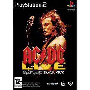 JEU PS2 AC/DC LIVE : ROCK BAND / JEU CONSOLE PS2