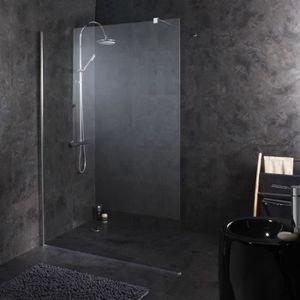 Paroi de douche 140 cm achat vente paroi de douche 140 cm pas cher cdis - Paroi de douche fixe 140 cm ...