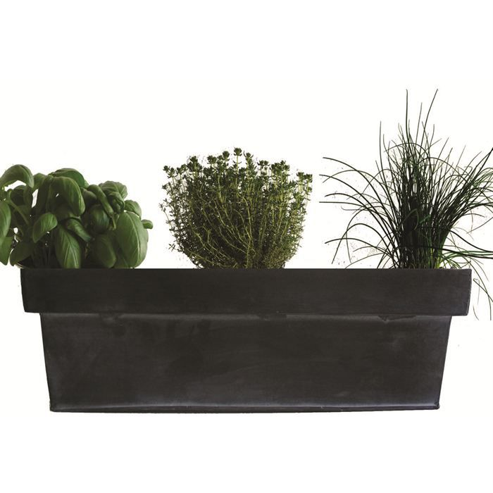 jardini re zinc 3 aromatiques achat vente graine. Black Bedroom Furniture Sets. Home Design Ideas