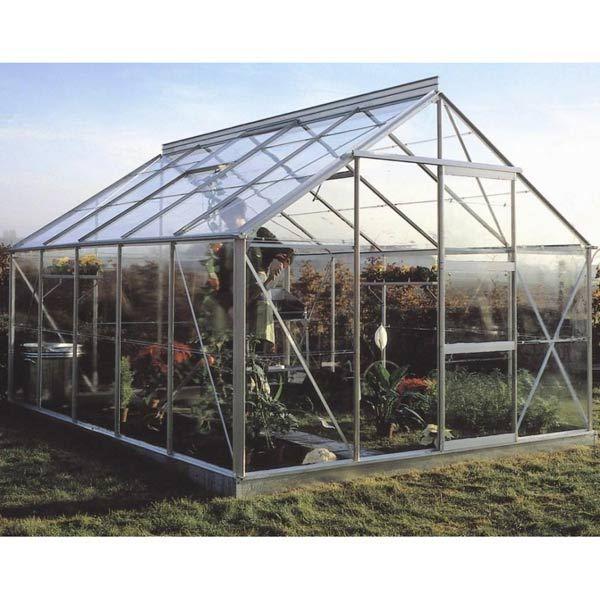 Serre de jardin 10m en alu et verre tremp achat - Vente de serre de jardin ...