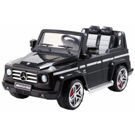 voiture lectrique pour enfant 4x4 mercedes g55 noir achat vente voiture enfant voiture. Black Bedroom Furniture Sets. Home Design Ideas