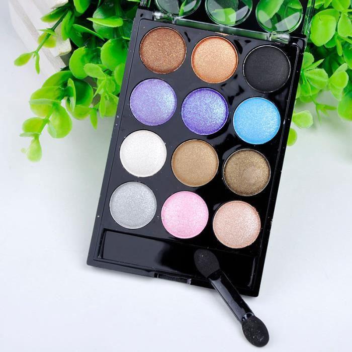 12 couleurs de la palette de fard paupi res achat - Meilleure palette maquillage ...