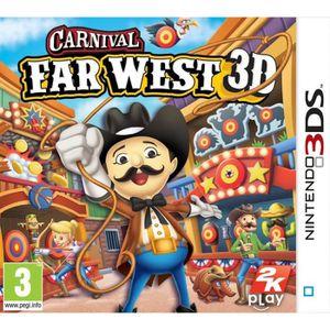 JEU 3DS CARNIVAL WILD WEST 3DS