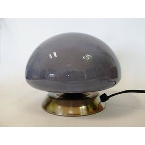Lampe tactile ovni grise