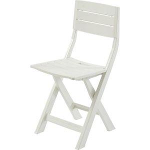 Chaise pliante en resine achat vente chaise pliante en - Chaise de jardin en resine pas cher ...