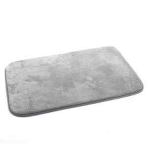 Tapis de bain gris clair achat vente tapis de bain gris clair pas cher - Tapis gris clair pas cher ...