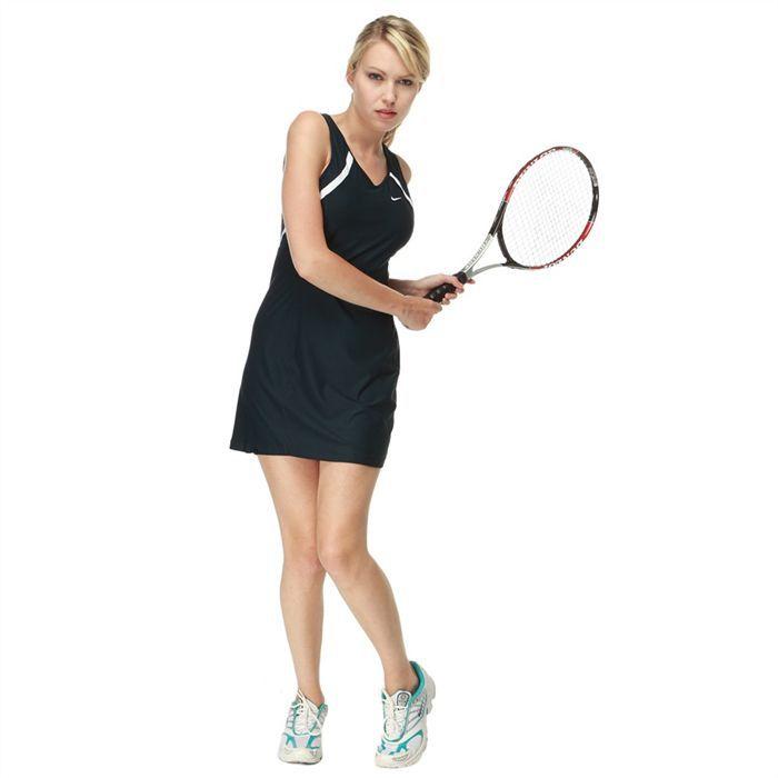 nike robe dry fit de tennis femme achat vente jupe robe nike robe femme soldes d t. Black Bedroom Furniture Sets. Home Design Ideas