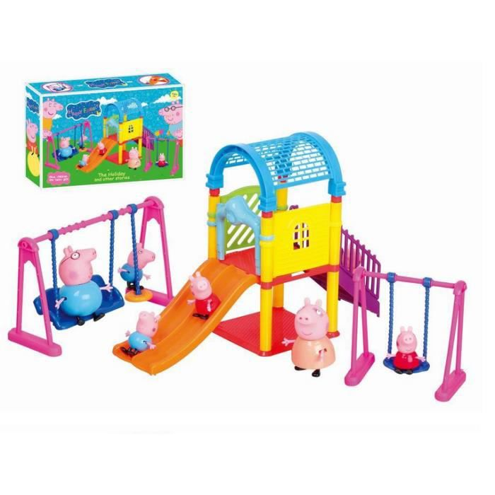 peppa pig jouet glissoire parc bascule achat vente. Black Bedroom Furniture Sets. Home Design Ideas