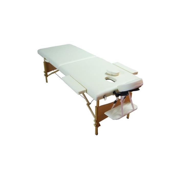 Table de massages bois pliante 2 zones achat vente table de massage table de massages bois - Table de massage pliante d occasion ...