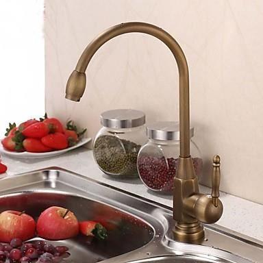 robinet de cuisine vintage bec col de cygne achat vente robinetterie de cuisine robinet de. Black Bedroom Furniture Sets. Home Design Ideas