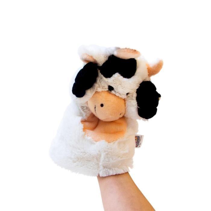 marionnette peluche vache noir et blanche achat vente th tre marionnette cdiscount. Black Bedroom Furniture Sets. Home Design Ideas