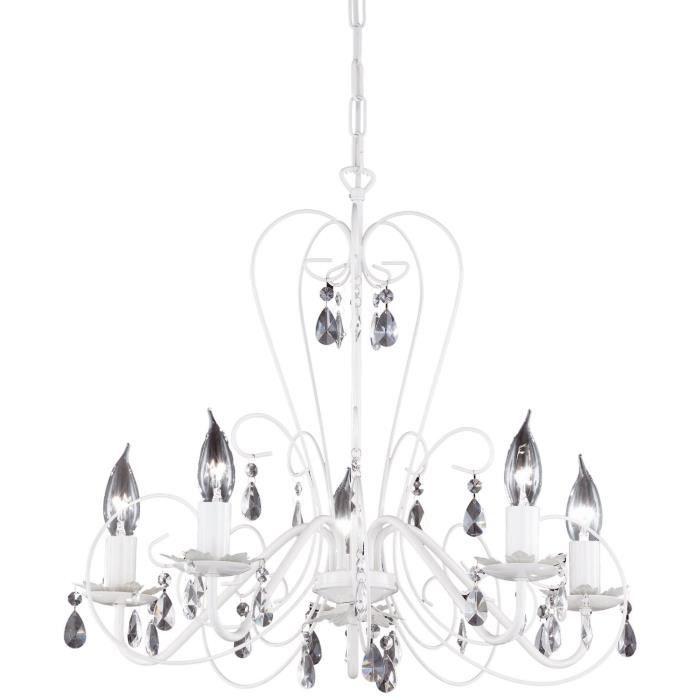 luminaire lustre lampe lampadaire lampe suspensi achat vente lustre et suspension luminaire. Black Bedroom Furniture Sets. Home Design Ideas