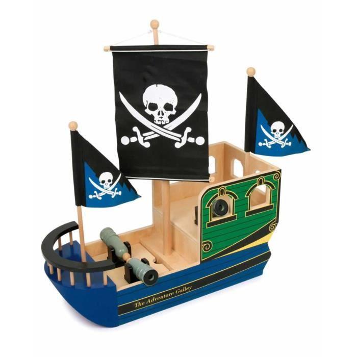 Bateau de pirate avec voile t te de mort jack achat - Voile bateau pirate ...