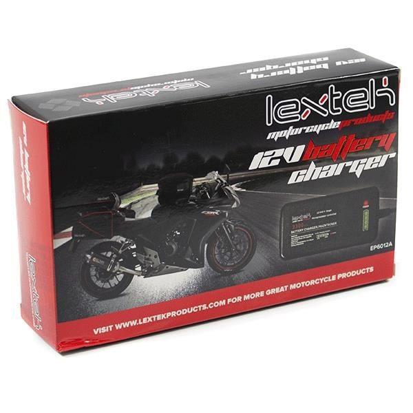 Lextek Scooter Chargeur Optimiseur Batterie 12v Pour
