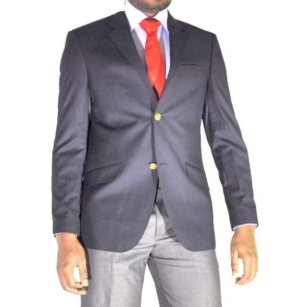 blazer homme bleu bleu achat vente veste blazer homme bleu cdiscount. Black Bedroom Furniture Sets. Home Design Ideas