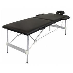 table de massage pliante alu 2 zones noire achat vente table de massage table de massage. Black Bedroom Furniture Sets. Home Design Ideas