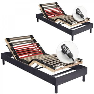 SOMMIER Sommiers Electriques Alitea Relax RELAX ONE  2x80x