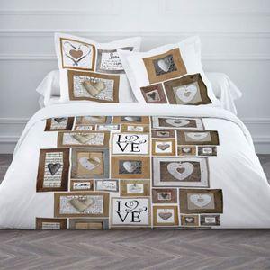 couette style chalet achat vente couette style chalet pas cher les soldes sur cdiscount. Black Bedroom Furniture Sets. Home Design Ideas