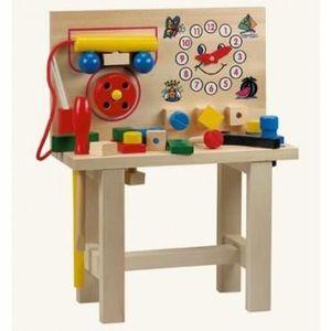 etable en bois achat vente jeux et jouets pas chers. Black Bedroom Furniture Sets. Home Design Ideas