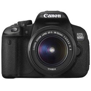 CANON EOS 650D 18-55mm IS II Reflex numérique