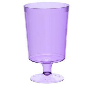 verre jetable violet achat vente verre jetable violet pas cher cdiscount. Black Bedroom Furniture Sets. Home Design Ideas