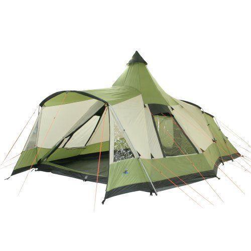 10t navaho 470 tente pyramide pour 5 personnes vert. Black Bedroom Furniture Sets. Home Design Ideas