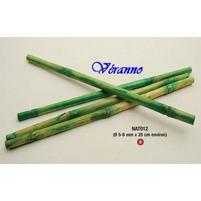 12 b tons de bambou 25cm achat vente d cors de table bambou cdiscount. Black Bedroom Furniture Sets. Home Design Ideas