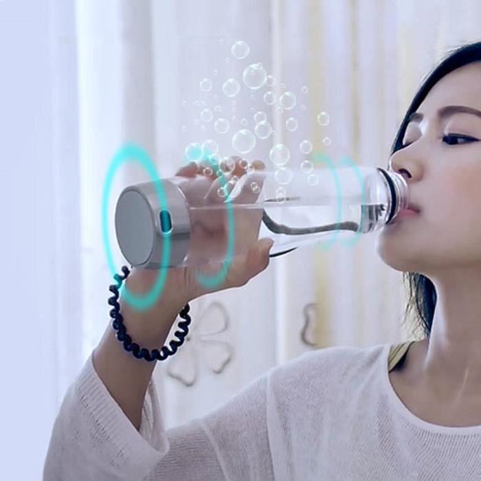 500ml portable bouteille ioniseur d 39 eau riche en hydrog ne. Black Bedroom Furniture Sets. Home Design Ideas