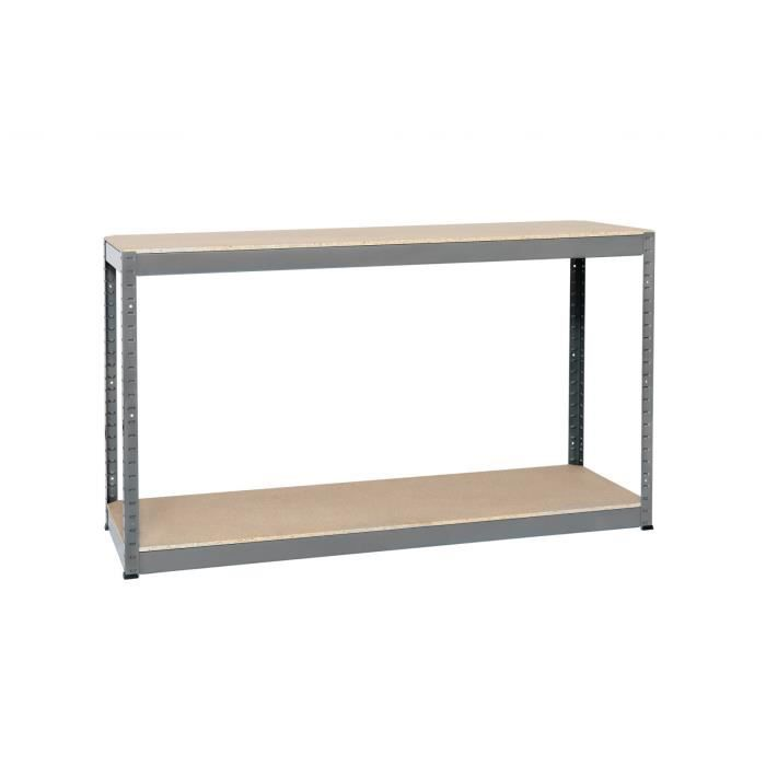 Rayonnage pro bois metal lourde charge superpos achat vente etag re mura - Etagere charge lourde castorama ...