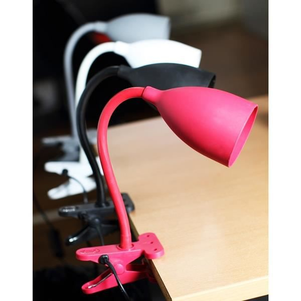 lampe flexible pince rouge achat vente lampe flexible pince rouge soldes d t cdiscount. Black Bedroom Furniture Sets. Home Design Ideas