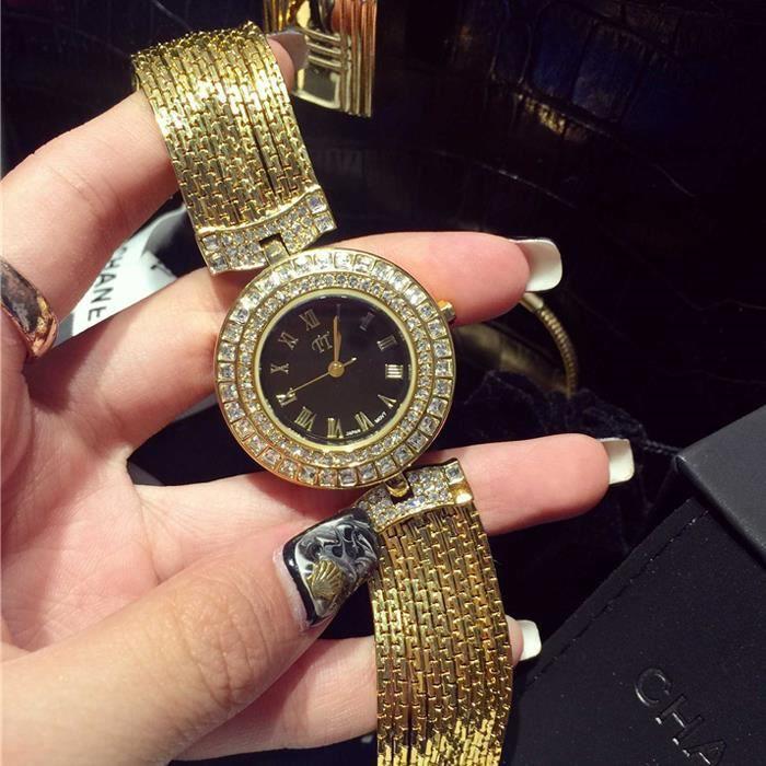 rmega montres femmes marque de luxe diamant bracelet jolie et magnifique achat vente. Black Bedroom Furniture Sets. Home Design Ideas