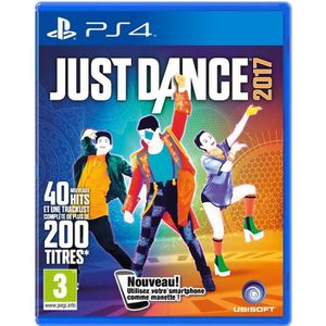 JEU PS4 NOUVEAUTÉ Just Dance 2017 Jeu PS4