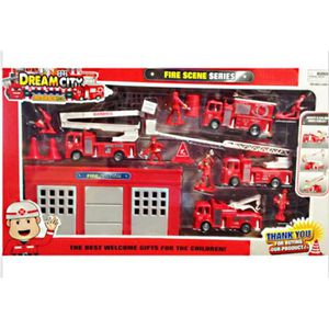 caserne de pompier achat vente jeux et jouets pas chers. Black Bedroom Furniture Sets. Home Design Ideas