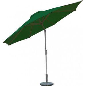 Parasol de jardin en aluminium inoxydable 300cm achat for Portent un parasol dans les jardins