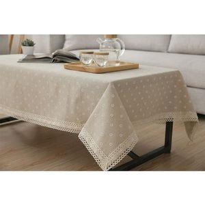 Nappe pour petite table achat vente nappe pour petite table pas cher cdiscount - Nappe de table rectangulaire pas cher ...