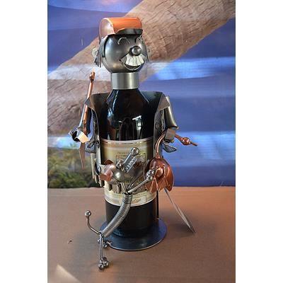 Porte bouteille chasseur avec chien et gibier achat vente porte bouteille porte bouteille - Diametre bouteille de vin ...