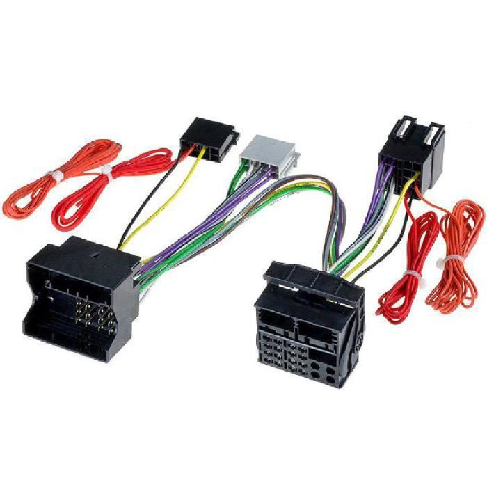 telephonie accessoires portable gsm fiches iso installation kit main libre mercedes cl f  auc