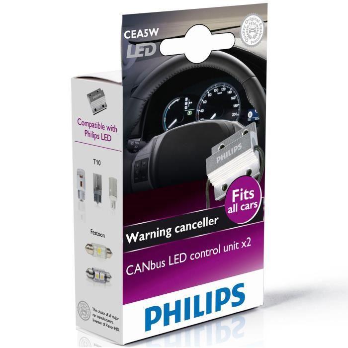 unit de controle annuler d 39 alarme pour lampes led philips canbus achat vente ampoule. Black Bedroom Furniture Sets. Home Design Ideas