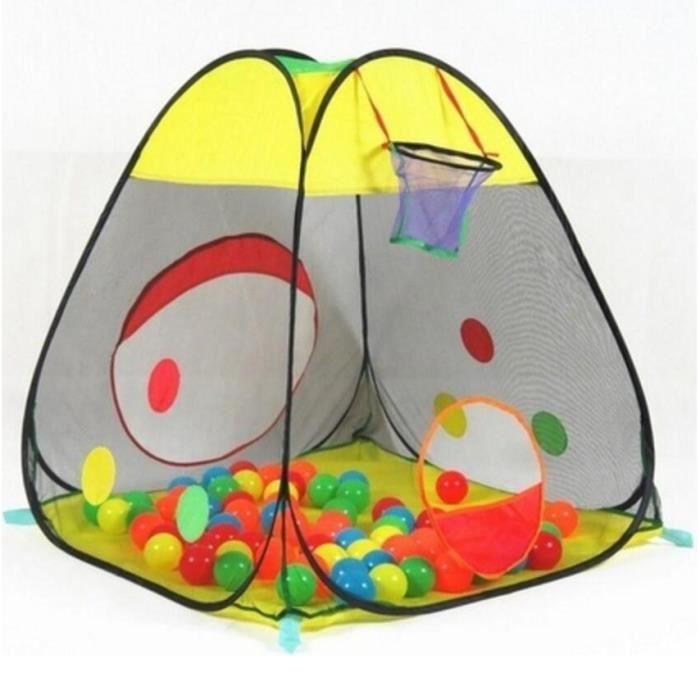 tente de jeu pour enfants portable et pliable int rieur. Black Bedroom Furniture Sets. Home Design Ideas