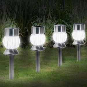 Eclairage ext rieur achat vente eclairage ext rieur pas cher cdiscount - Bornes solaires jardin ...