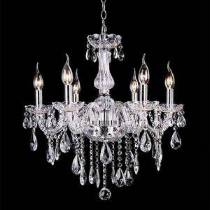 LUSTRE ET SUSPENSION Lustre en cristal Lampe luminaire suspension  6 la