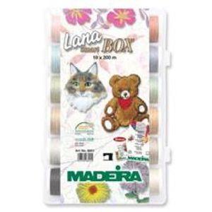 PIÈCE SOIN DU LINGE Madeira Smart Box fils à broder Lana 8051